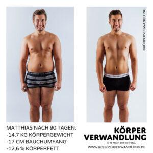Matthias geht in der 90 Tage Challenge ans Limit