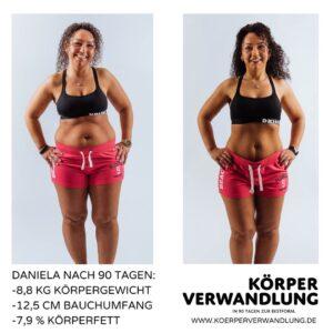 Daniela Ludewig kommt in Form