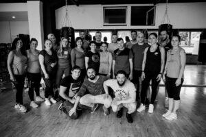 Gruppenfoto von der letzten 90 Tage Challenge von Körperverwandlung