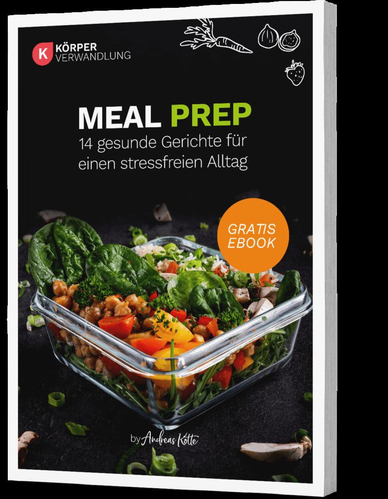 Meal Prep Kochbuch von Körperverwandlung zum gratis downloaden