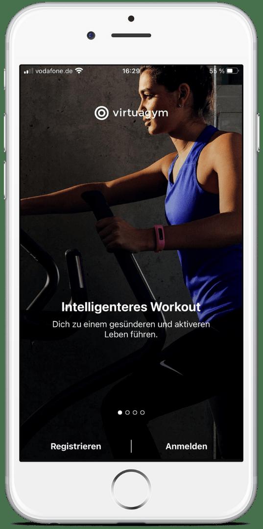 Die Trainings-App von Körperverwandlung