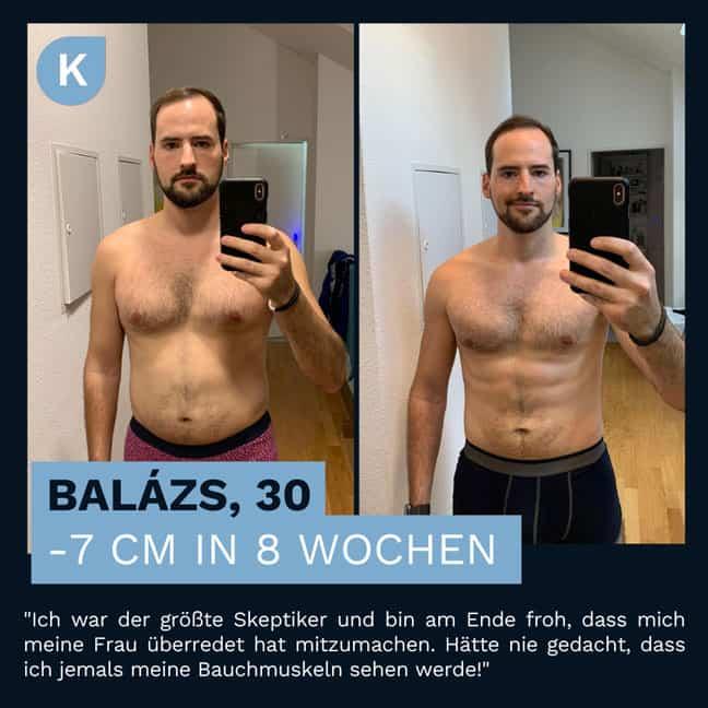 Balasz Verwandlung durch die Körperverwandlung
