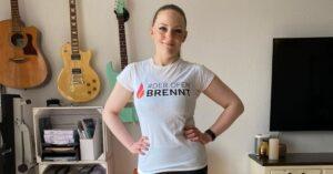 Sabrinas Körperverwandlung minus 27 kg in 6 Monaten